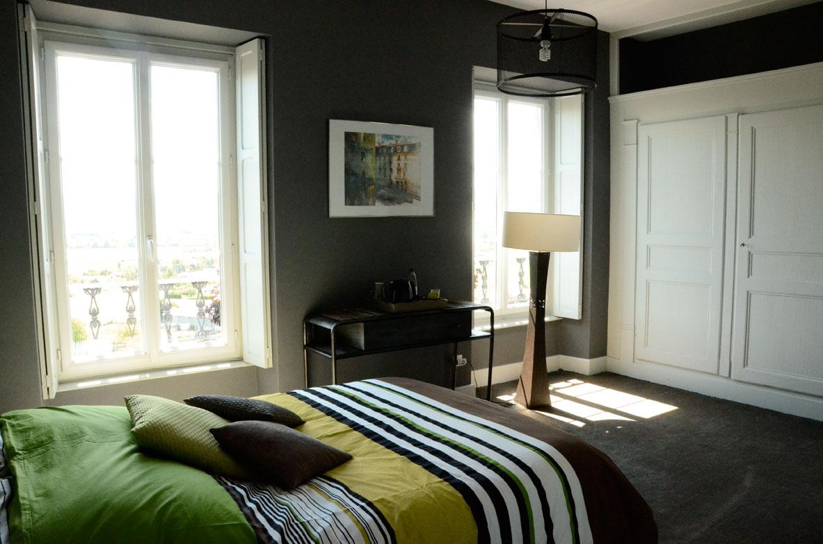 La lit 39 h te chambre d 39 h tes chambre point virgule lit for Chambre d hote clermont